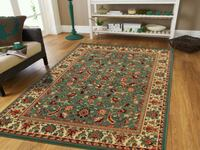 New Green Traditional Persian Area Rug 8x11 Baltimore, 21229