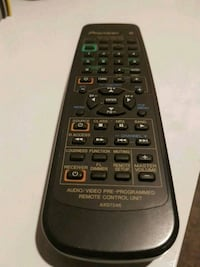 Pioneer Amp Remote ( sold the amp last year )