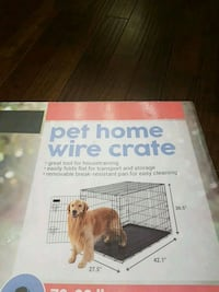 Pet home crate