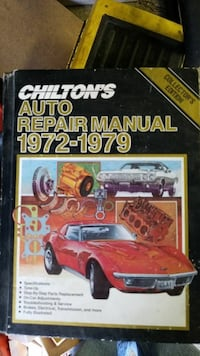 Chilton's Auto Repair Manual