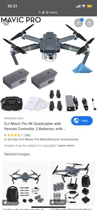 Looking for Dji mavic pro or willing to trade my phantom 4 without battery but in excellent condition  Surrey