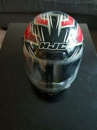 black and red HJC full face helmet Long Beach, 90804