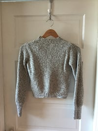 GREY TOPSHOP SWEATER  VANCOUVER