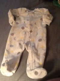 baby's white and blue footie pajama Woodbridge, 22191