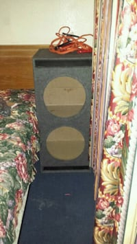 black and brown wooden speaker enclosure Norfolk, 23503