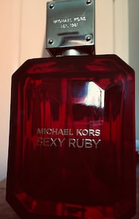 Full bottle of Micheal Kors-Sexy Ruby perfume for ladies. $20