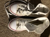 pair of white Converse All Star low-top sneakers Portland, 97210