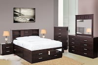 6 PIECE STORAGE BEDROOM SET TORONTO