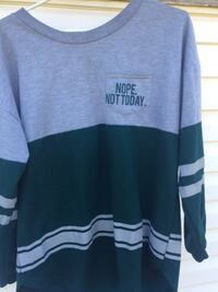 """""""Nope Not Today"""" Long sleeve shirt Calgary, T1Y 4A5"""