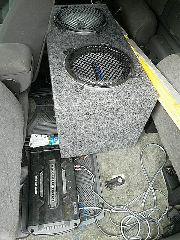 Two 10-inch MTX Jackhammer sub's