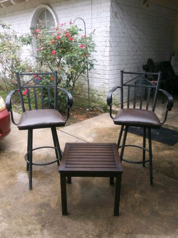 Tall Barstool For Outside Patio Set