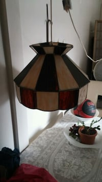 brown and black table lamp Longueuil, J4J 3S7