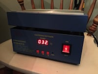 Electronic hot plate with precise temperature control Washington