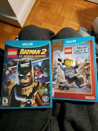 two Nintendo Wii game cases Montreal
