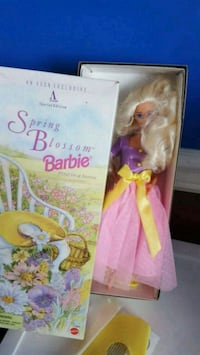 Barbie doll in pink dress Calgary, T2Z 3Y5