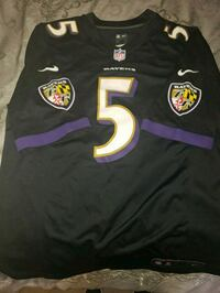 Official NFL Ravens #5 Flacco Ladies Silver Spring, 20910
