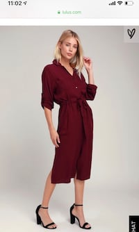 BRAND NEW with tags lulus shirt dress Alexandria, 22315