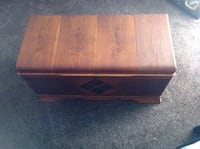 Antique walnut trunk Sherwood Park
