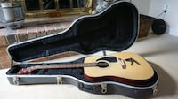 Ibanez Acoustic Guitar with hard case Rockville