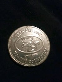 Jerry Rice collectors coin for 49ers Stockton, 95202