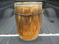 "Nail keg barrel 18"" tall Inwood, 25428"