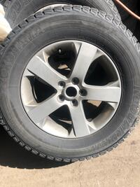 245/70R17 winter tire with rim. Only used one winter