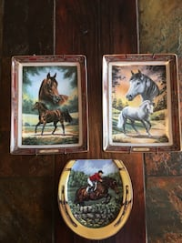 Beautiful collectable horse plates Ottawa, K1G