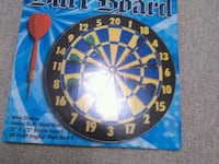 blue and black dartboard box Lansing, 48910