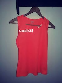 red Baw tank top