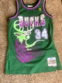 NBA Ray Allen 1996-97 Bucks Jersey McDonough, 30253