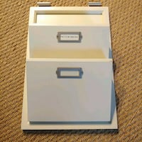 Creamy White Pottery Barn Office Storage Bowie, 20721