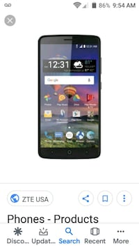 ZTE Prepaid Android Phone any carrier Evansville, 47714