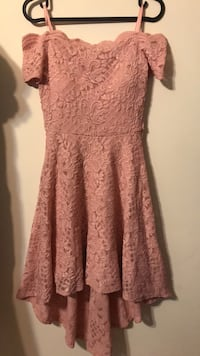 women's pink floral sleeveless dress Hyattsville, 20783