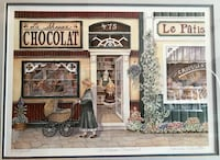 """La Shoppe Chocolat"" by Janice Tanton 26""X21"" Print  Waterloo, N2L 3H8"
