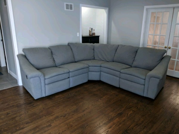Fantastic Art Van Power Reclining Sectional Couch Uwap Interior Chair Design Uwaporg