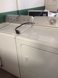 white washer and dryer set Indianapolis, 46201