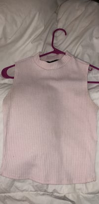 Forever 21 Baby Pink Top