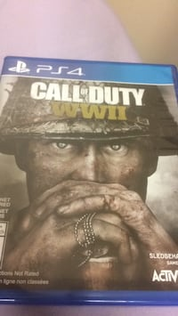 Call of Duty Ghosts PS4 game case Toronto, M6L