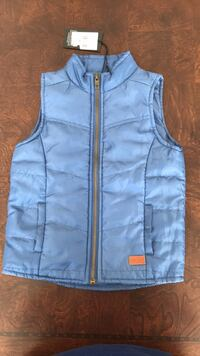 Blue zip-up vest from Italy  Vaughan, L4K 0B1