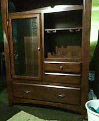 brown wooden cabinet with drawer West Kelowna, V1Z 1N1