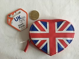 Brand new Union Jack coin purse