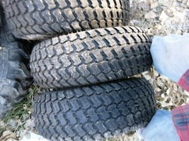Multi-trac tires and wheels