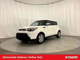 2014 Kia Soul Clear White hatchback