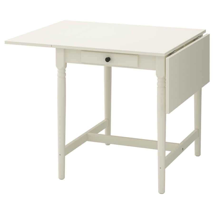 IKEA Ingatorp drop leaf extendable table
