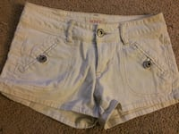 women's white denim short shorts Northwood, 03261