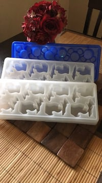 ice cube trays Mickey Mouse and. State  of Michigan