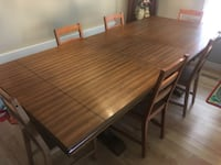 Large Dining Room Table & Chairs Elmira, N3B 3E7