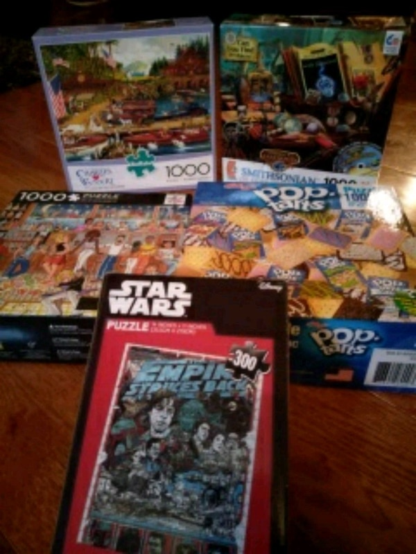 Used Puzzles (pickup only)