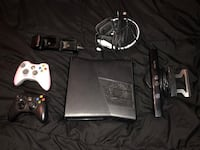 Xbox 360 console with controllers Bakersfield, 93312