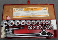 "Pittsburgh Forge 3/4"" 21pc Socket Set Westminster"